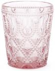 Набор 6 стаканов Siena Toscana 350мл, розовое стекло