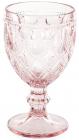 Набір 6 винних келихів Siena Toscana 350мл, рожеве скло
