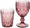 Набір 6 винних келихів Siena Toscana 300мл, скло пурпурне