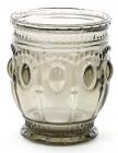 Набір 6 склянок Siena Toscana 250мл, графітове скло