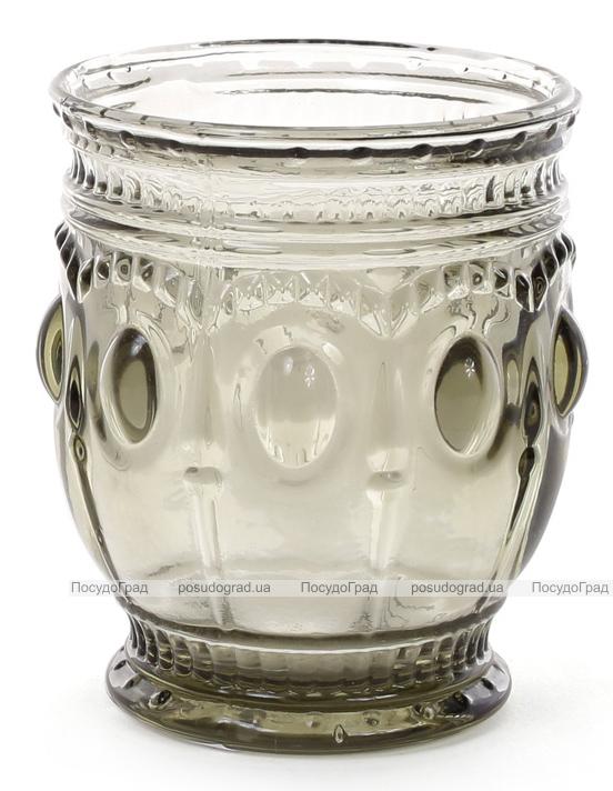 Набор 6 стаканов Siena Toscana 250мл, графитовое стекло