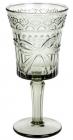 """Набор 6 бокалов для вина """"Бант"""" 260мл, дымчатое стекло"""