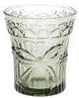 """Набор 6 стаканов """"Бант"""" 260мл, дымчатое стекло"""
