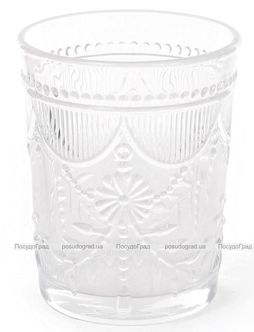 Набір 6 склянок Siena Toscana 300мл, прозоре скло