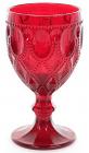 Набір 6 винних келихів Siena Toscana 300мл, рубінове скло