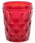 Набор 6 стаканов Siena Toscana 340мл, рубиновое стекло