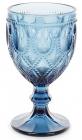 Набор 6 винных бокалов Siena Toscana 300мл, синее стекло
