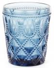 Набор 6 стаканов Siena Toscana 340мл, синее стекло