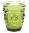 Набор 6 стаканов Siena Toscana 260мл, оливковое стекло