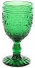 Набор 6 винных бокалов Siena Toscana 300мл, изумрудное стекло