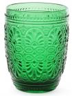 Набор 6 стаканов Siena Toscana 325мл, изумрудное стекло