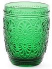 Набір 6 склянок Siena Toscana 325мл,смарагдове скло