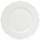 Набор 6 обеденных тарелок Leeds Королевская Лилия Ø26.1см, белые