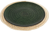 Блюдо сервировочное Emerald Web декоративное Ø33см, подставная тарелка, стекло
