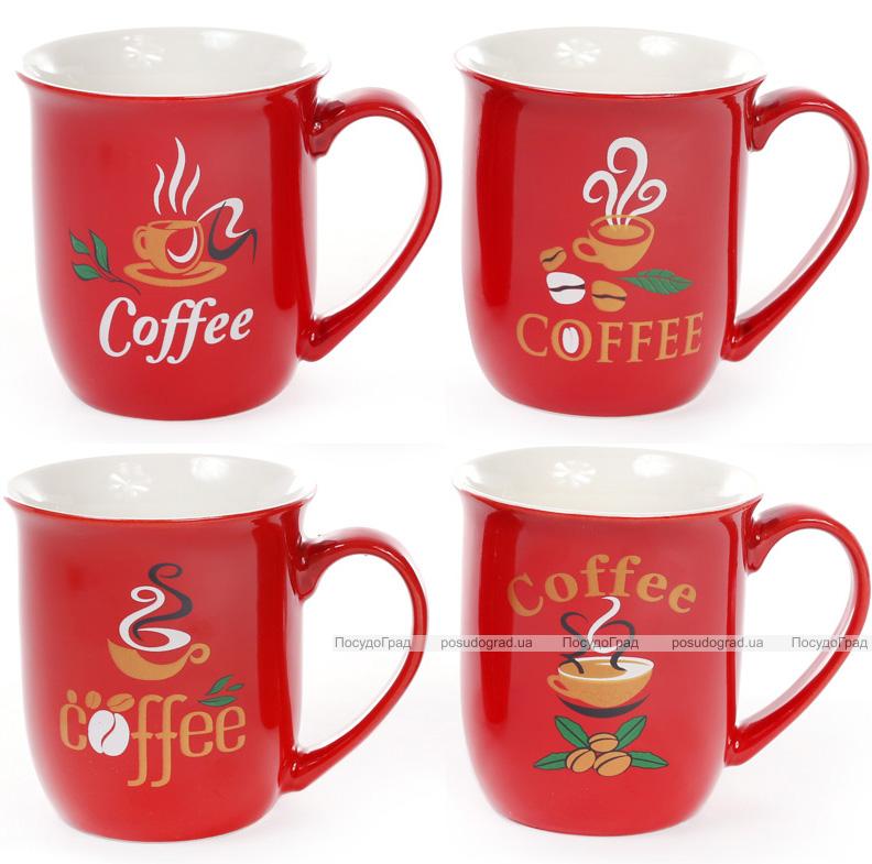 """Кружка фарфоровая """"COFFEE"""" 260мл, кофейная"""