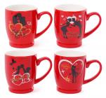 "Кружка порцелянова ""Happy Valentine's"" 330мл"