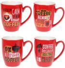 "Кружка фарфоровая ""Coffee First"" 340мл"