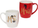 "Набір 2 кружки ""Mr&Mrs"" 250мл фарфор"