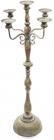 Підсвічник декоративний Cornel 39х39х120.5см на 5 свічок, металевий