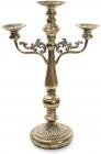 Підсвічник декоративний Cornel 43х22х66.5см на 3 свічки, металевий