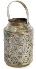 Підсвічник декоративний Cornel Nehl 12.5х12.5х19.5см, металевий