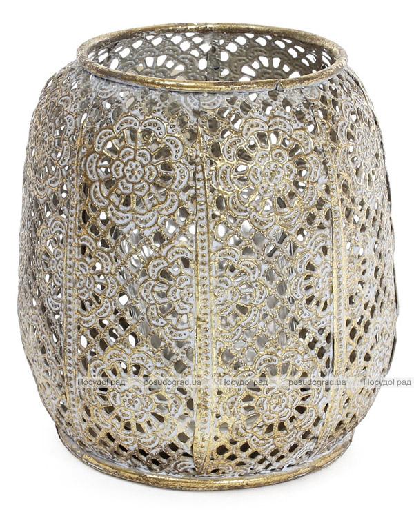 Підсвічник декоративний Cornel Nehl 12.5х12.5х12см, металевий