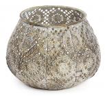 Підсвічник декоративний Cornel Nehl 15х15х10см, металевий