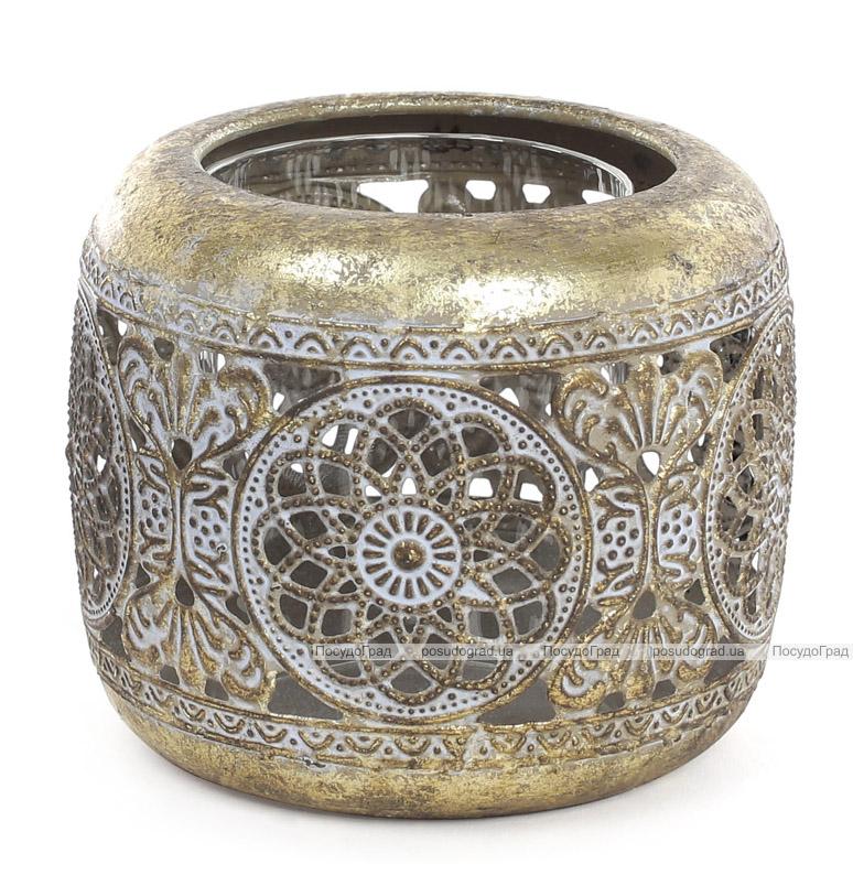 Підсвічник декоративний Cornel Nehl 11.5х11.5х9.5см, металевий