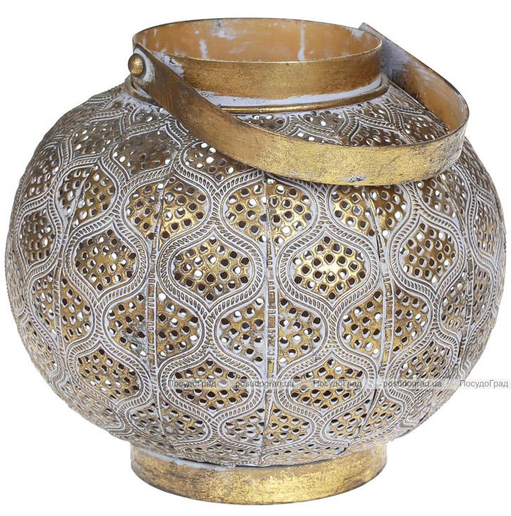 Підсвічник декоративний Cornel Eias 19.5х19.5х17см, металевий