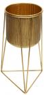 Металеве кашпо на підставці Cornel 34.5х33.5х59см