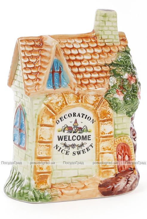 "Подставка ""Домик в деревне"" 11х6х15см для кухонных принадлежностей"