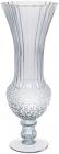 Ваза декоративна Ancient Glass Ля-Рошель 17.5х17.5х45см, блакитне скло