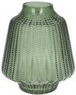 Ваза декоративная Ancient Glass Медина 7.6х20х23см, зеленое стекло