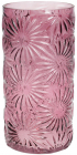 Ваза декоративна Ancient Glass Айстра Ø15х30.5см, фіолетове скло