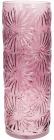 Ваза декоративная Ancient Glass Астра Ø15х42.2см, фиолетовое стекло