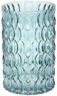 Ваза декоративна Ancient Glass Катті Ø13х20см, блакитне скло