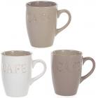 """Кружка Shabby Chic """"Cafe"""" 310мл кераміка"""