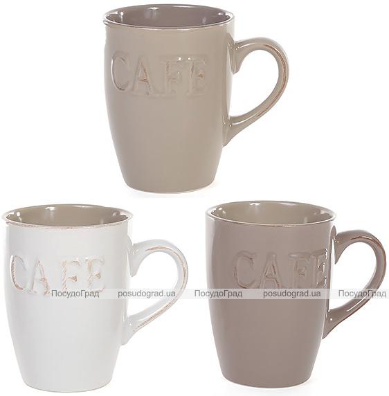 "Кружка Shabby Chic ""Cafe"" 310мл керамика"