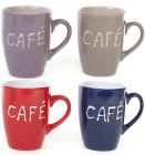 """Кружка Shabby Chic """"Cafe"""" 330мл кераміка"""