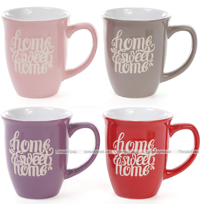 "Кружка керамическая ""Home sweet home"" 370мл"