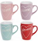 """Кружка керамічна """"Home is where the heart is"""" 310мл"""