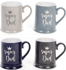 """Кружка керамическая """"Super Dad"""" (Супер Папа) 320мл"""