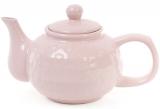 Чайник заварочный Нежный орнамент 1000мл, керамический, розовый