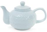"""Чайник заварочный """"Нежный орнамент"""" 1000мл, керамический, голубой"""