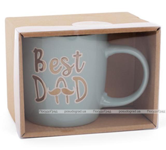 """Кружка керамическая """"Best Dad"""" (Лучший Папа) 320мл"""