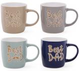 """Кружка керамічна """"Best Dad"""" (Кращий Тато) 320мл"""