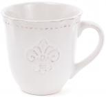 "Кружка Shabby Chic ""Королівська лілія"" 350мл, молочна"