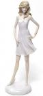 """Статуетка декоративна """"Дівчина в легкому платті"""" 30.5см"""