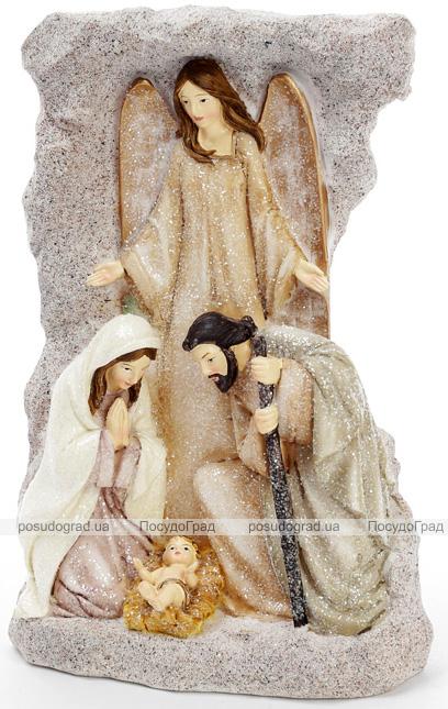 """Декоративная рождественская статуэтка """"Вертеп"""" 15.5х8х23.5см"""