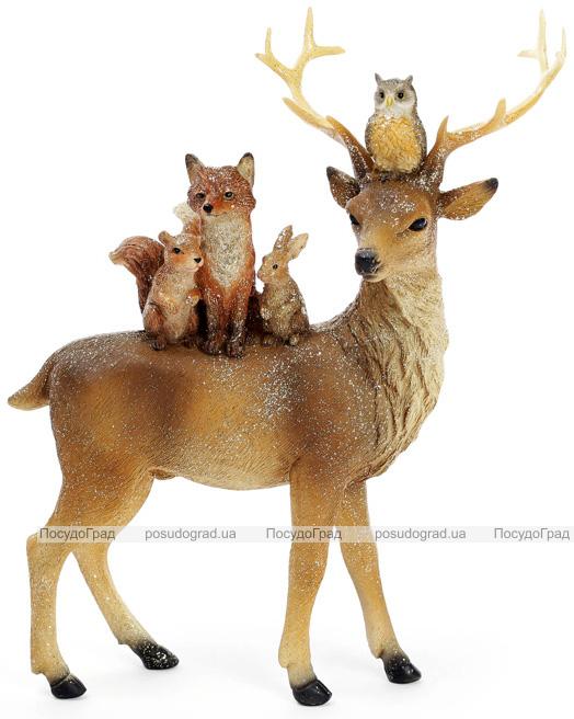 """Декоративна статуетка """"Лісова композиція"""" 21х7.5х24см"""